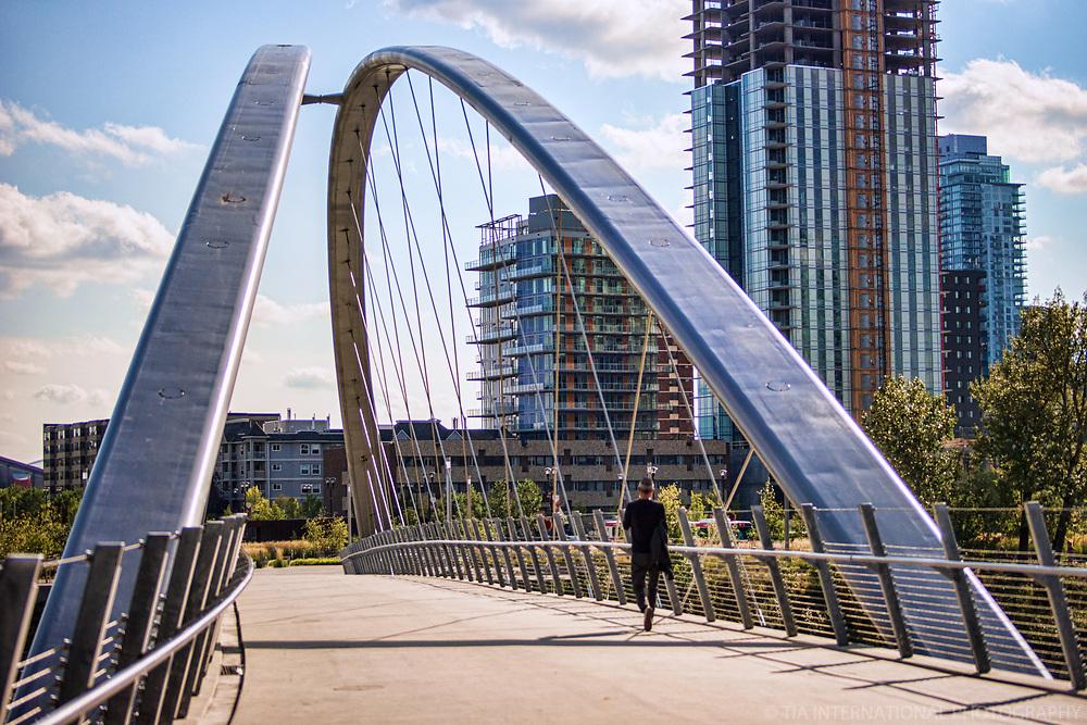 George C. King Bridge, Riverwalk