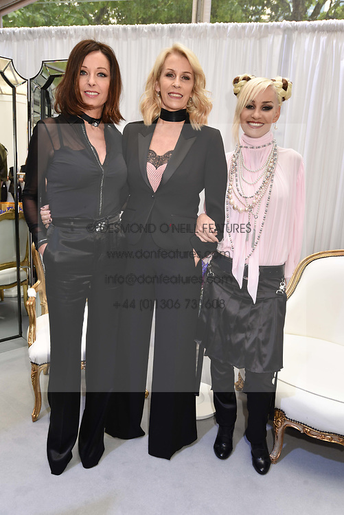 Bananarama at the Glamour Women of The Year Awards 2017 in association with Next held in Berkeley Square Gardens, London England. 6 June 2017.