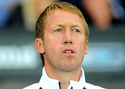 Swansea City manager Graham Potter looks on - Mandatory by-line: Nizaam Jones/JMP- 21/08/2018 - FOOTBALL - Liberty Stadium - Swansea, Wales - Swansea City v Leeds United - Sky Bet Championship