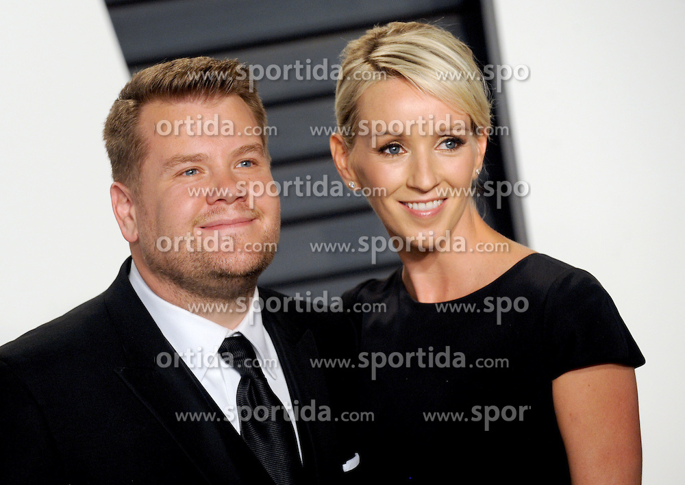 James Corden arrives at the 2016 Vanity Fair Oscar Party Hosted By Graydon Carter at Wallis Annenberg Center for the Performing Arts on February 28, 2016 in Beverly Hills, California. EXPA Pictures © 2016, PhotoCredit: EXPA/ Photoshot/ Dennis Van Tine<br />