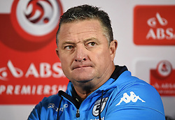 Cape Town-180411 Wits coach Gavin Hunt looks disappointed after his team lost to Ajax Cape Town in a PSL game played  at Athlone stadium.photographer:Phando Jikelo/African News Agency/ANA