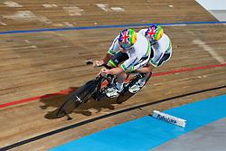 , AUS, Tandem 1 km TT, 2015 UCI Para-Cycling Track World Championships, Apeldoorn, Netherlands