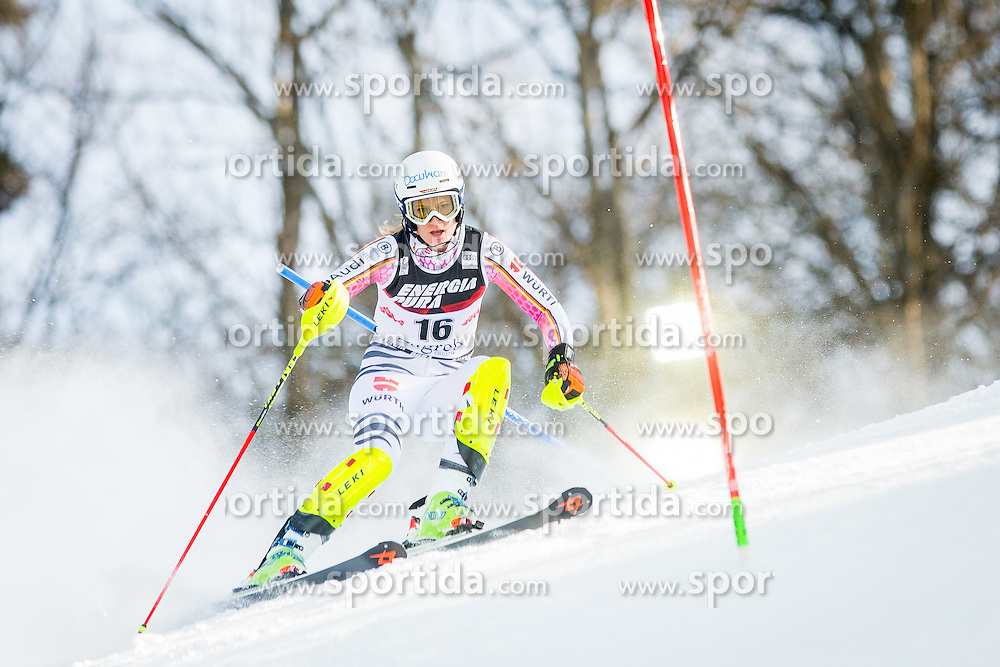 "Lena Duerr (GER) during FIS Alpine Ski World Cup 2016/17 Ladies Slalom race named ""Snow Queen Trophy 2017"", on January 3, 2017 in Course Crveni Spust at Sljeme hill, Zagreb, Croatia. Photo by Žiga Zupan / Sportida"