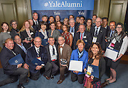 Photo by Mara Lavitt<br /> November 20, 2015 <br /> The Presidents' Room, Yale University.<br /> The annual Yale Alumni Association Leadership Awards.