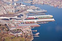Maryland Port Administration N. Locust Point Terminal at the Port of Baltimore on the PatapscoRiver