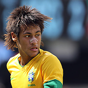 Neymar, Brazil, during the Brazil V Argentina International Football Friendly match at MetLife Stadium, East Rutherford, New Jersey, USA. 9th June 2012. Photo Tim Clayton