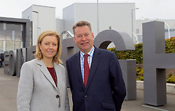 Scottish Conservatives finance spokesman Murdo Fraser with Rachael Hamilton, party spokeswoman on culture and tourism at Edinburgh Airport, calling for a cut in air departure tax. pic copyright Terry Murden @edinburghelitemedia