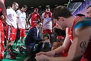 DESCRIZIONE : Treviso Lega A 2011-12 Benetton Treviso Cimberio Varese<br /> GIOCATORE : carlo recalcati coach<br /> SQUADRA : Benetton Treviso Cimberio Varese<br /> EVENTO : Campionato Lega A 2011-2012 <br /> GARA : Benetton Treviso Canadian Solar Bologna<br /> DATA : 25/04/2012<br /> CATEGORIA : Time Out<br /> SPORT : Pallacanestro <br /> AUTORE : Agenzia Ciamillo-Castoria/G.Contessa<br /> Galleria : Lega Basket A 2011-2012 <br /> Fotonotizia : Treviso Lega A 2011-12 Benetton Treviso Cimberio Varese<br /> Predfinita :