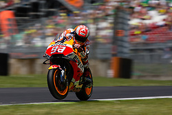 June 2, 2018 - Mugello, FI, Italy - Marc Marquez of Repsol Honda Team during the qualifying  of the Oakley Grand Prix of Italy, at International  Circuit of Mugello, on June 2, 2018 in Mugello, Italy  (Credit Image: © Danilo Di Giovanni/NurPhoto via ZUMA Press)