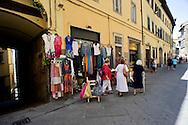 Via Nazionale in Cortona