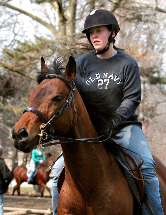 Kimberly. A very experienced rider.