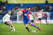 Crystal Palace defender Damien Delaney (27) during the The FA Cup match between Crystal Palace and Bolton Wanderers at Selhurst Park, London, England on 17 January 2017. Photo by Sebastian Frej.