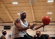 ABA's STL Pioneers basketball practice