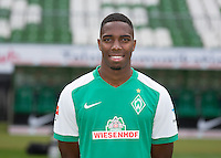 German Soccer Bundesliga 2015/16 - Photocall of Werder Bremen on 10 July 2015 in Bremen, Germany: Ulisses Garcia