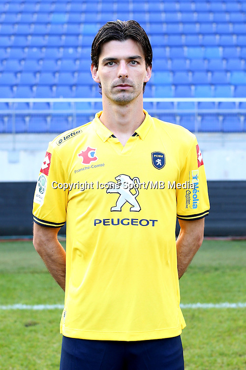 Matheus VIVIAN - 04.10.2014 - Photo officielle Sochaux - Ligue 2 2014/2015<br /> Photo : Icon Sport