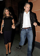 08.JULY.2009 - LONDON<br /> <br /> CHELSEA AND ENGLAND FOOTBALLER JOE COLE TAKES HIS WIFE CARLY OUT FOR DINNER TO CIPRIANI'S RESTAURANT, MAYFAIR.<br /> <br /> BYLINE: EDBIMAGEARCHIVE.COM<br /> <br /> *THIS IMAGE IS STRICTLY FOR UK NEWSPAPERS &amp; MAGAZINE ONLY*<br /> *FOR WORLDWIDE SALES &amp; WEB USE PLEASE CONTACT EDBIMAGEARCHIVE - 0208 954 5968*