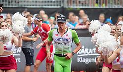 07.07.2019, Klagenfurt, AUT, Ironman Austria, Laufen, im Bild Stenn Goetstouwers (BEL, 2. Platz) // second placed Stenn Goetstouwers (BEL) during the run competition of the Ironman Austria in Klagenfurt, Austria on 2019/07/07. EXPA Pictures © 2019, PhotoCredit: EXPA/ Johann Groder