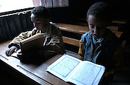 Dessie, Ethiopia: Children spend hours every day learning to read the Koran in Arabic at the Showber Islamic School, one of several madrassas in this northern Ethiopia town. While Orthodox Christianity has historically been associated with political power in Ethiopia, Muslims have in recent years been asserting themselves more forcefully. Ethiopia is now nearly half Muslim, according to demographers and U.S. officials. (PHOTO: MIGUEL JUAREZ LUGO).