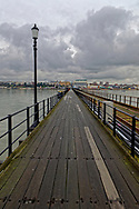 Southend Pier, The Longest Pier in the World, Southend-on-Sea, Essex, Britain - Feb 2015