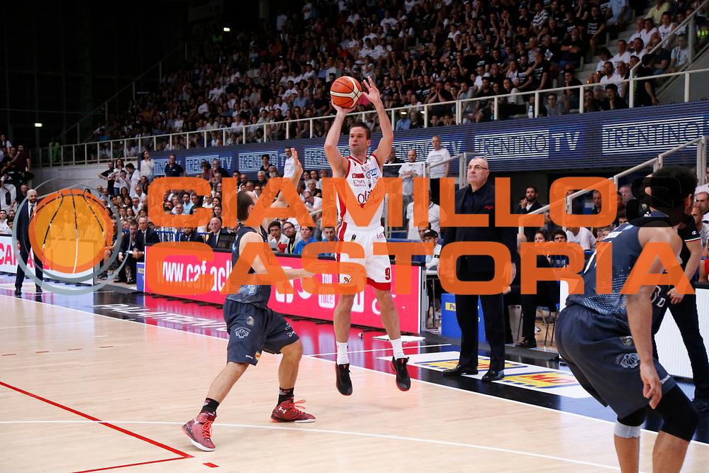 Kalnietis Mantas<br /> Dolomiti Energia Aquila Basket Trento - EA7 Emporio Armani Olimpia Milano<br /> Semifinale Gara 4, Lega Basket Serie A 2016/2017<br /> PalaTrento 31/05/2017<br /> Foto Ciamillo-Castoria / M.Brondi