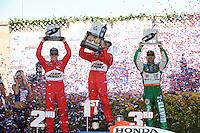 Helio Castroneves, Ryan Briscoe, Tony Kanaan, Indy Grand Prix of Sonoma, Infineon Raceway, Sonoma, CA  USA  8/23/08