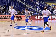 DESCRIZIONE : Berlino Eurobasket 2015 Islanda Italia<br /> GIOCATORE : riscaldamento Italia<br /> CATEGORIA : riscaldamento pre game pregame<br /> SQUADRA : Italia<br /> EVENTO : Eurobasket 2015<br /> GARA : Islanda Italia<br /> DATA : 06/09/2015<br /> SPORT : Pallacanestro<br /> AUTORE : Agenzia Ciamillo&shy;Castoria/M.Longo<br /> Galleria : Eurobasket 2015<br /> Fotonotizia : Berlino Eurobasket 2015 Islanda Italia