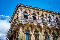 HAVANA, CUBA - CIRCA MAY 2016: Old building in Havana.