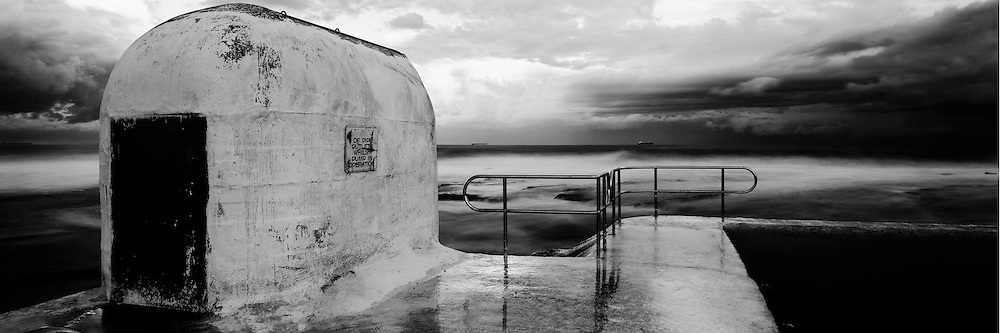 Pumphouse, Merewether Ocean Baths, East Coast Australia,