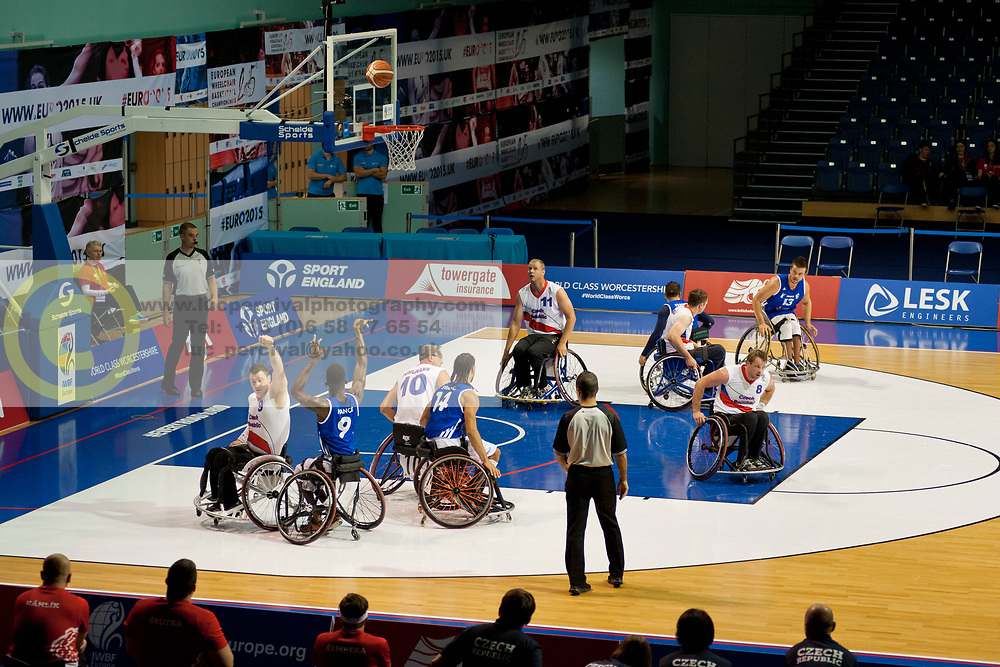 FRA v CZE, Wheelchair Basketball, 2015 European Championships, Men's (11-12) Playoff