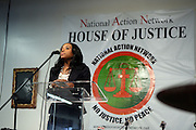 17 January 2011- Harlem, NY-  Tamika Mallory, National Executive Director, The National Action Network at The National Action Network Martin Luther King Day Celebration held at The House of Justice on January 17, 2011 in Harlem, New York City.Photo Credit: Terrence Jennings