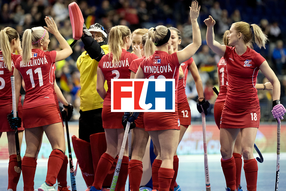 BERLIN - Indoor Hockey World Cup<br /> Women: Czech Republic - Germany<br /> foto: <br /> WORLDSPORTPICS COPYRIGHT FRANK UIJLENBROEK