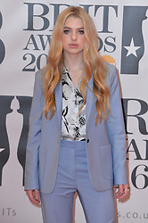 Anais Gallagher attends the Brit Awards at the O2 Arena in London. 24.02.2016. EXPA Pictures © 2016, PhotoCredit: EXPA/ Photoshot/ Euan Cherry<br /><br />*****ATTENTION - for AUT, SLO, CRO, SRB, BIH, MAZ only*****