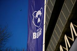Bristol Bears flag - Mandatory by-line: Dougie Allward/JMP - 01/12/2019 - RUGBY - Ashton Gate - Bristol, England - Bristol Bears v London Irish - Gallagher Premiership Rugby
