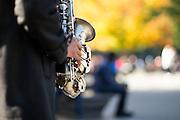 Sax in Washington Square Park