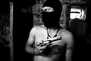 """'Jose', 33, has spent the majority of his adult life involved in the drug trade in Venezuela. """"I want to change,"""" he says, """"I don't want to have any more enemies."""""""