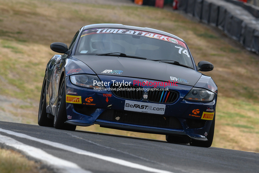 #74 Carl OWEN BMW Z4 - Track Car Performance Magazine  during 2018 MSA Time Attack Championship - FastR Clubman / Pocket Rocket / Classic & Retro  as part of the Time Attack - Round 4 - Oulton Park  at Oulton Park, Little Budworth, Cheshire, United Kingdom. July 28 2018. World Copyright Peter Taylor/PSP. Copy of publication required for printed pictures.