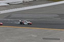 January 27, 2018 - Daytona, FLORIDE, ETATS UNIS - 58 WRIGHT MOTORSPORTS (USA) PORSCHE 911 GT3 R PORSCHE GTD PATRICK LONG (USA) CHRISTINA NIELSEN (DNK) ROBERT RENAUER (DEU) MATHIEU JAMINET  (Credit Image: © Panoramic via ZUMA Press)