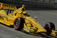 Helio Castroneves, Shell Houston GP, Reliant Park, Houston, TX USA 6/29/2014