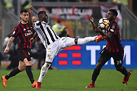 Kwadwo Asamoah Juventus, Franck Kessie Milan <br /> Roma 09-05-2018  Stadio Olimpico  <br /> Football Calcio Finale Coppa Italia / Italy's Cup Final 2017/2018 Juventus - Milan<br /> Foto Andrea Staccioli / Insidefoto