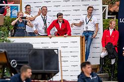 Team Belgium, Bruyninckx Frederik, Weinberg Petyer, Philippaerts Olivier, Devos Pieter, Bruynseels Niels<br /> Longines FEI Jumping Nations Cup Final<br /> Challenge Cup - Barcelona 2019<br /> © Dirk Caremans<br />  06/10/2019
