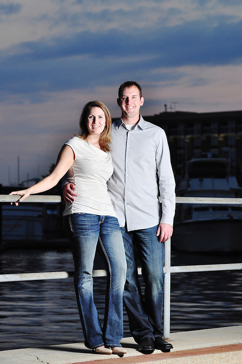 David and Gwen Portrait | Photographers in New Bern NC
