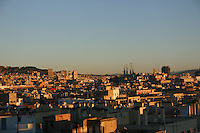 Rooftops in Barcelona City<br />