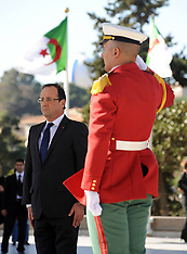 DEC 20 2012 Francois Hollande - Algeria