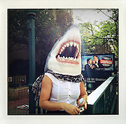 New York shark..From the series Fake Polaroids.http://www.stefanfalke.com/#/personal/Fake%20Polaroids/1/.