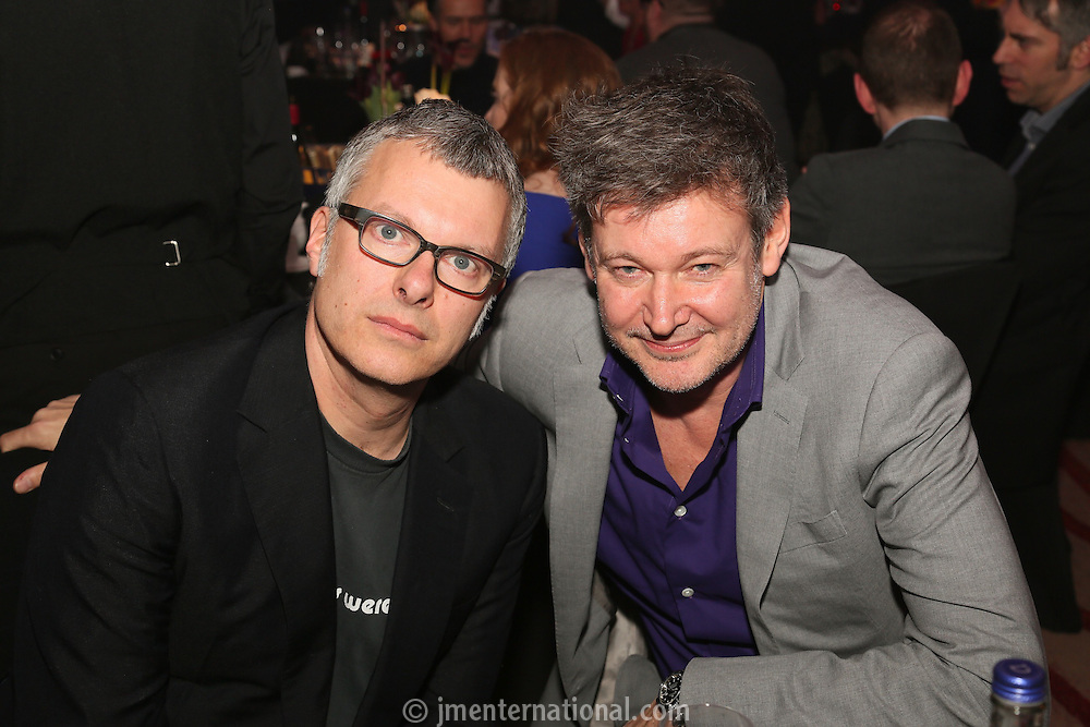 Flood (Mark Ellis) & Alan Moulder (r) - BRIT Awards & MPG Producers of the Year - The Music Producers Guild Awards :Thursday, Feb 13. 2014