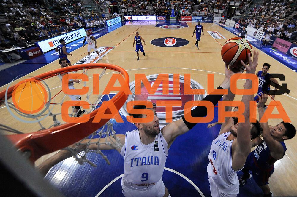 DESCRIZIONE: Bologna Basketball City Tournament - Italia Filippine<br /> GIOCATORE: Andrea Bargnani<br /> CATEGORIA: Nazionale Maschile Senior<br /> GARA: Bologna Basketball City Tournament - Italia Filippine<br /> DATA: 25/06/2016<br /> AUTORE: Agenzia Ciamillo-Castoria