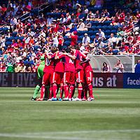 Chicago Fire vs LA Galaxy at  Toyota Park, Bridgeview, Illinois, July 8, 2012. Photo: George Strohl