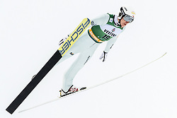 February 8, 2019 - Lahti, Finland - Adam CieÅ›lar competes during Nordic Combined, PCR/Qualification at Lahti Ski Games in Lahti, Finland on 8 February 2019. (Credit Image: © Antti Yrjonen/NurPhoto via ZUMA Press)