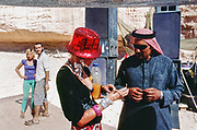 Bangled woman, Middle East Tek, Wadi Rum, Jordan, 2008