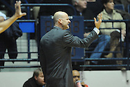 "Mississippi Rebels head coach Andy Kennedy reacts vs. South Carolina at the C.M. ""Tad"" Smith Coliseum in Oxford, Miss. on Saturday, January 10, 2015. Mississippi won 65-49. (AP Photo/Oxford Eagle, Bruce Newman)"